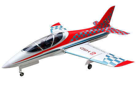 HSDJETS 105mmEDF Super Viper Red Checker