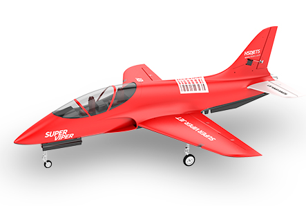 HSDJETS 105mm EDF Super Viper V4 Red