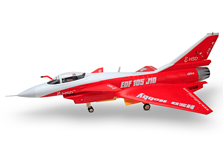 HSDJETS 105EDF H-J10 Red