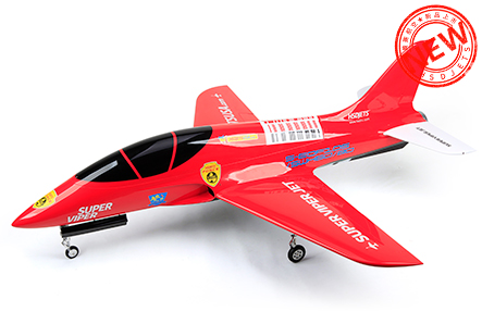 HSDJETS Super Viper FRP Turbine Red